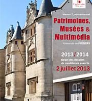 Master 2 Patrimoines, musées et multimédia